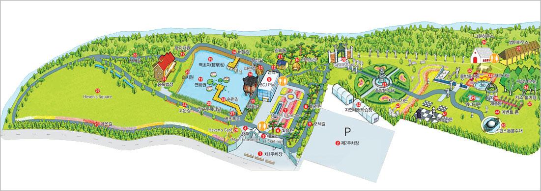 【韓國自由行】京畿道坡州一日遊 BCJ 碧草池文化樹木園-韓劇景點:她很漂亮+城市獵人